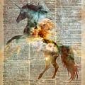 Unicorn Carina Nebula by Anna W