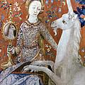Unicorn Tapestry, 15th C by Granger