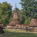 Unidentified Wat Wihan And Chedi Dthst0074 by Gerry Gantt