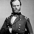 Union General William Tecumseh Sherman 1865 by Daniel Hagerman