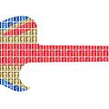 Union Guitar by Gary Hogben