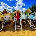 Union Jack Beach Hut 2 by Chris Thaxter