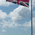 Union Jack Off Land's End by Philip Pound