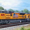 Union Pacific 8690 by RB McGrath