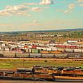 Union Pacific's Bailey Yard by Eunice Warfel