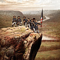 Union Soldiers On Lookout Mountain by War Is Hell Store