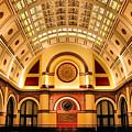 Union Station Balcony by Kristin Elmquist