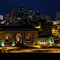 Union Station In Kansas City by Carolyn Fox