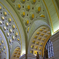 Union Station Ceiling by Rich Walter