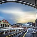 Union Station Denver - Slow Sunset by Jan Abadschieff