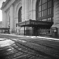 Union Station Kansas City In The Snow by Roy Inman