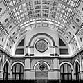 Union Station Lobby Bw by Kristin Elmquist