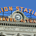 Union Station Sign by Ken Smith