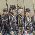 Union Veteran Soldiers Parade  by Randy Steele