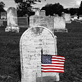 Uniontown Cemetery Maryland Selective Color by James Brunker