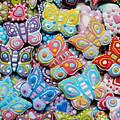 Unique Colorful Honey Cookies , Butterfly Shaped  by Aleksandra Djokic Rakic