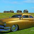 Unique Gold Street Rod by Randy Harris