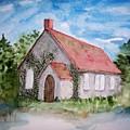 Unitarian Church by B Kathleen Fannin