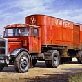 United Dairies Scammell. by Mike  Jeffries