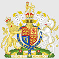 United Kingdom Coat Of Arms by Movie Poster Prints