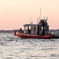 United States Coast Guard Heading Out by Nikki Vig