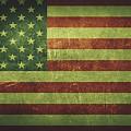 United States Distressed Flag Dehner by David Dehner