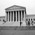 United States Supreme Court Building Bw by Frank Romeo