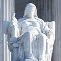 United States Supreme Court, The Contemplation Of Justice Statue, Washington, Dc 2 by Anthony Schafer