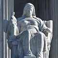 United States Supreme Court, The Contemplation Of Justice Statue, Washington, Dc 3 by Anthony Schafer