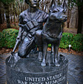 United States War Dog Memorial by Paul Ward