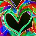 Universal Sign For Love by Eloise Schneider