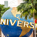 Universal Studio Globe by Jijo George