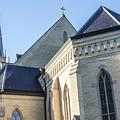 University Of Notre Dame Basilica  by John McGraw