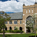 University Of Notre Dame Law School by Sally Weigand