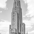 University Of Pittsburgh Cathedral Of Learning by University Icons
