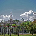 University Of Tampa by Jost Houk