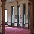 University Tampa Hallway by Toni Thomas