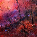Unset In The Wood by Pol Ledent