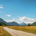 Unspoiled Alpine Scenery From Kinloch-glenorchy Road, Nz by Daniela Constantinescu