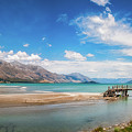 Unspoiled Alpine Scenery In Kinloch Wharf, New Zealand by Daniela Constantinescu