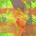 Untitled #13 Abstract Multicolor by Hao Aiken