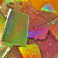 Untitled Abstract Prism Plates IIi by Rob Mandell