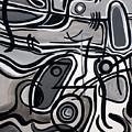 Untitled Gray by Lynda Lehmann