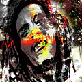 Untitled Reduction 3 Bob Marley by Simon Wairiuko