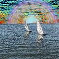 Unto The Sunset We Sail My Love by Tim Allen