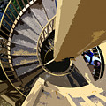 Up The Spiral Staircase by David Lee Thompson