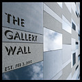 Up The Wall-the Gallery Wall Logo by Wendy Wilton