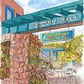 Sedona Up Town Mall In Sedona, California by Carlos G Groppa