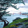 Upon Seeing The Golden Gate by Laura Iverson