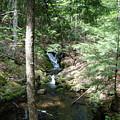 Upper Adler Falls 4405 by Michael Peychich
